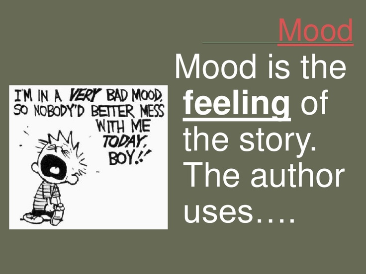 mood in literature by gherm6 via slideshare classroom resources pinterest literature and. Black Bedroom Furniture Sets. Home Design Ideas