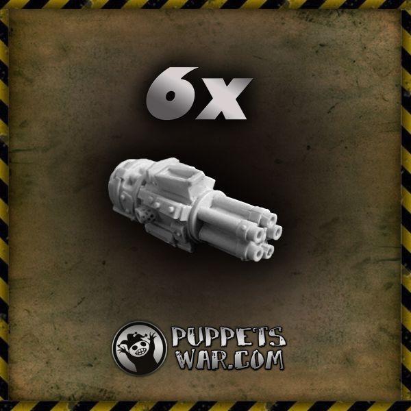 ORC GATLING GUN - 6x