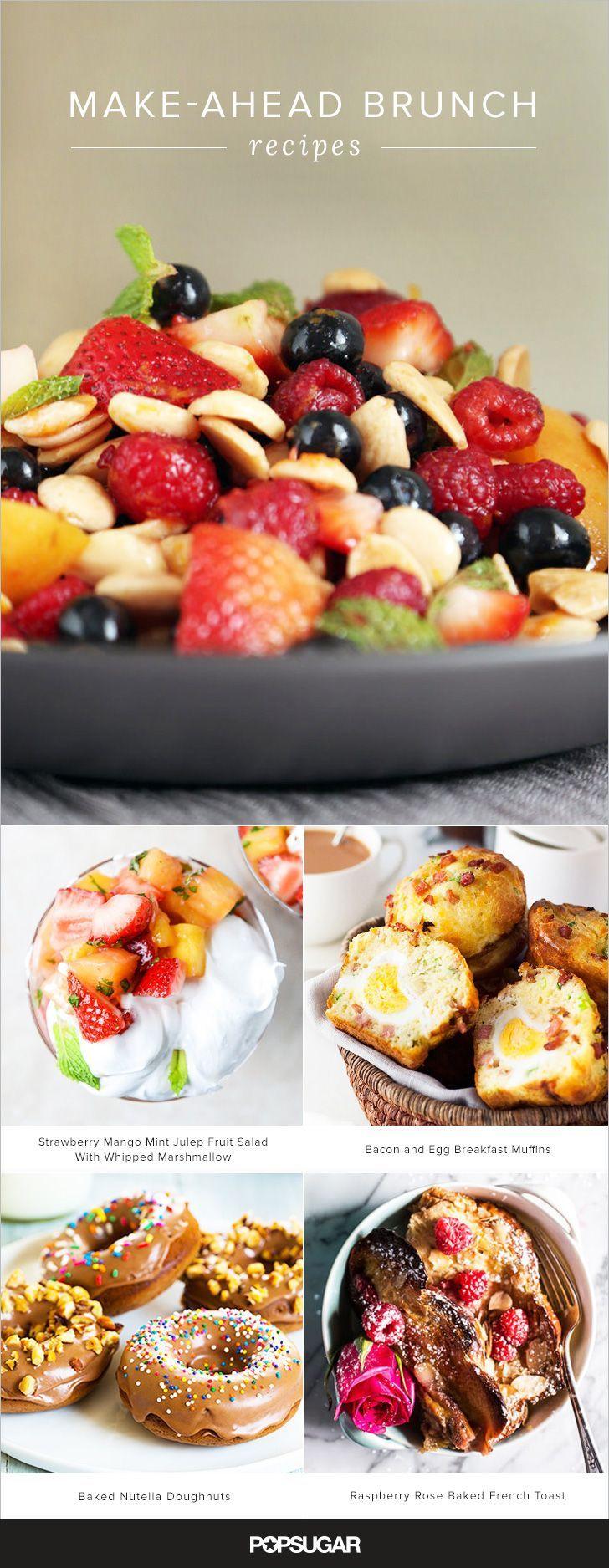 Best brunch party foods ideas on pinterest
