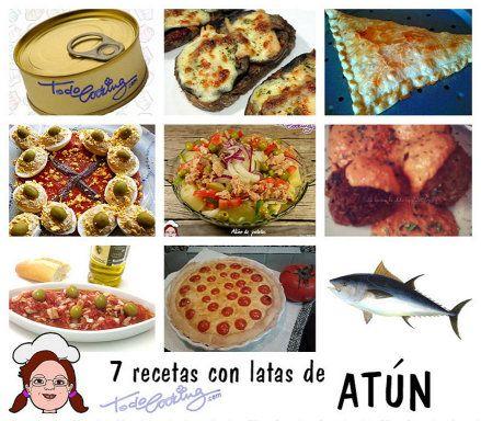 7 recetas con latas de atún