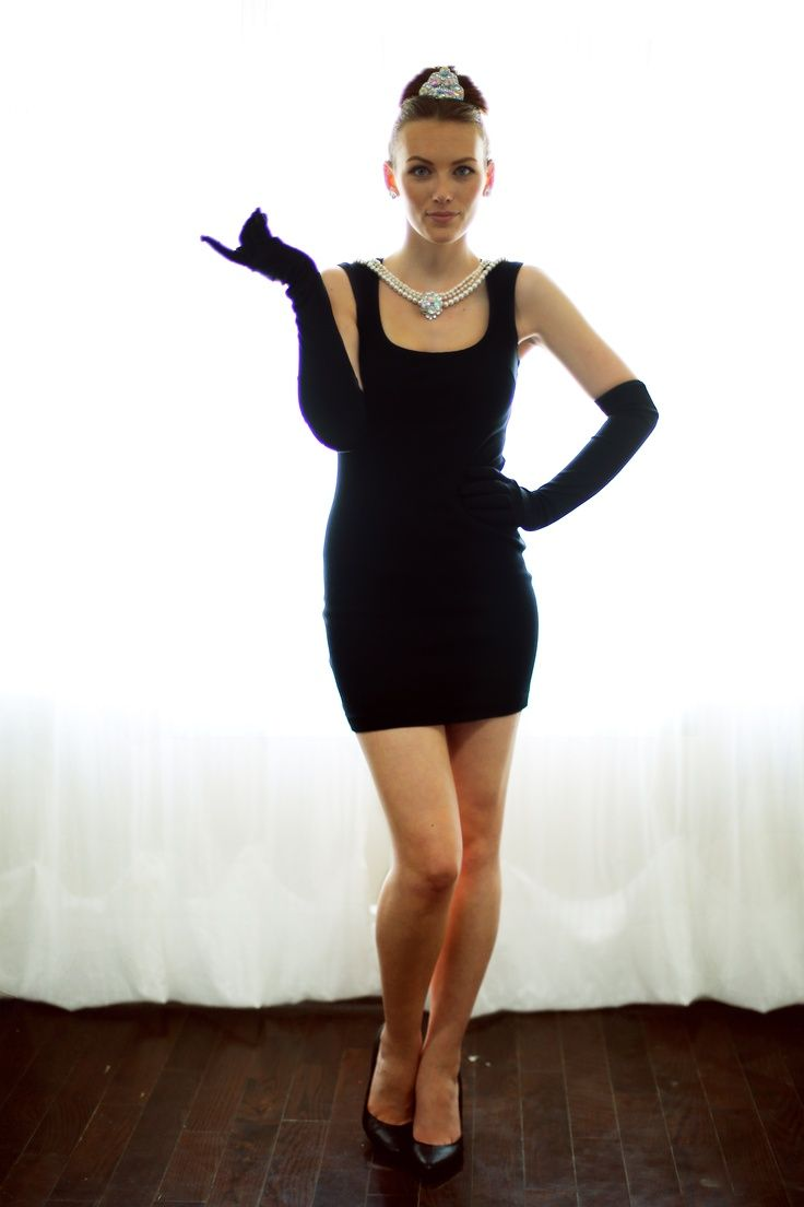 Black dress costume ideas - Halloween Costumes You Can Create With Your Little Black Dress