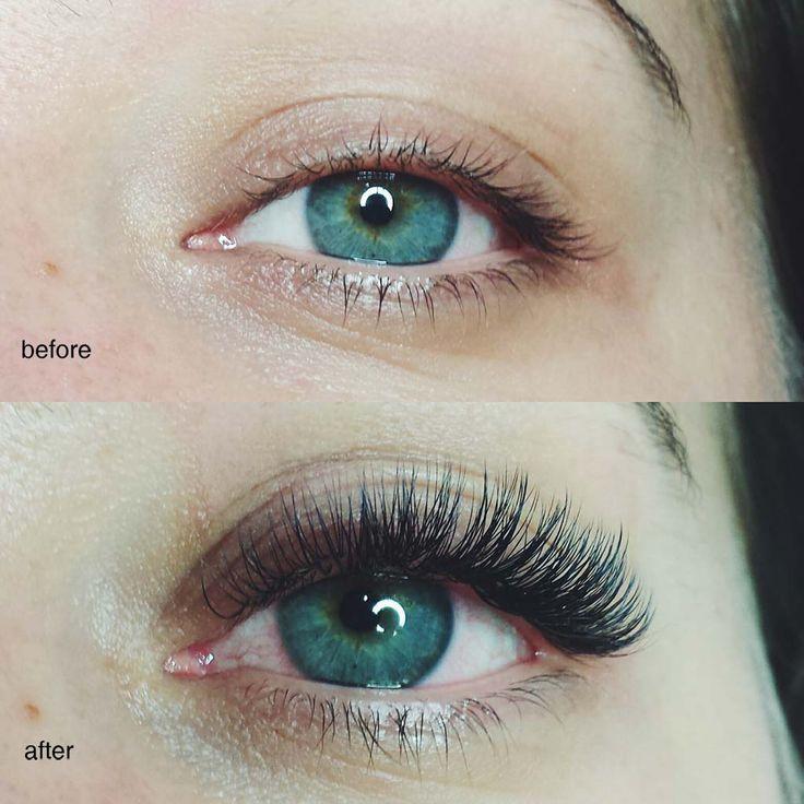 eyelash extension before after - Sök på Google