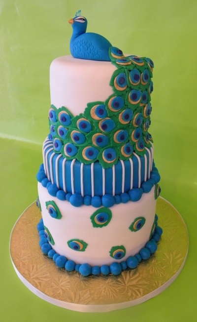 Peacock By KristyCakes on CakeCentral.com