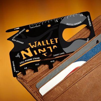 Cartão Ninja com 18 ferramentas - TVShopping.pt | Produtos vistos na TV com descontos até 90%