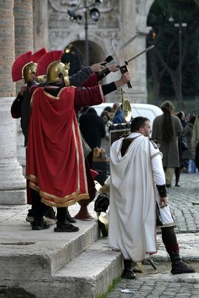 How to Make Roman Soldier Metal Costumes