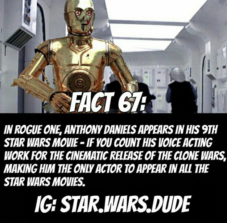 Anthony Daniels is the luckiest man alive! // Star Wars Facts
