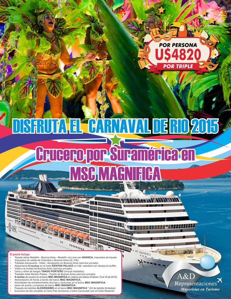 Crucero Carnaval de Rio