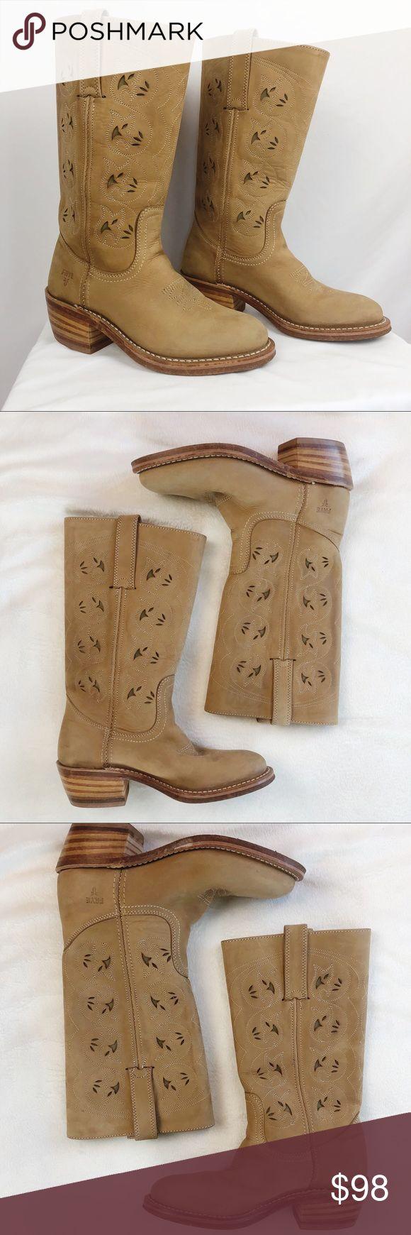 Frye Austin – Westernstiefel aus Leder mit Ausschnitten Frye Austin – Westernstiefel aus …