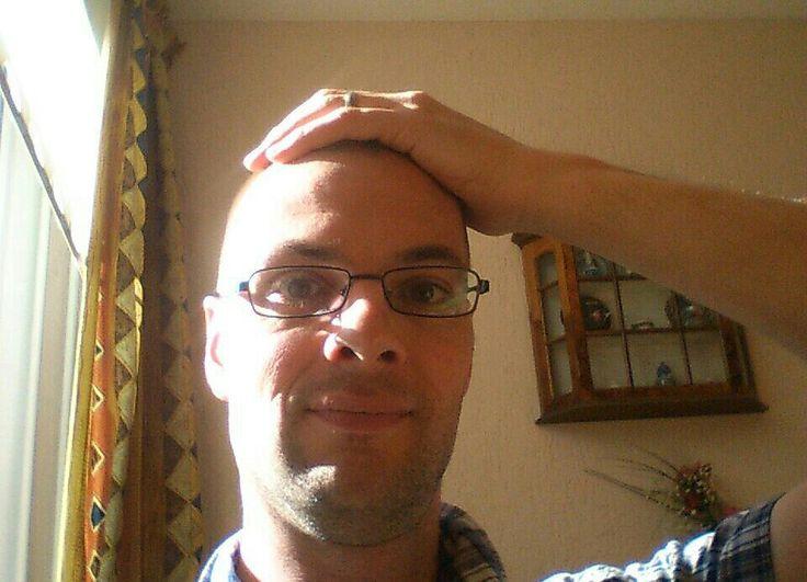 Me, Freshly shaved