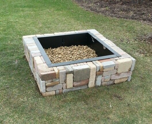 17 Best Ideas About Rustic Fire Pits On Pinterest Outdoor Fire Pits Fire Pits And Firepit Ideas