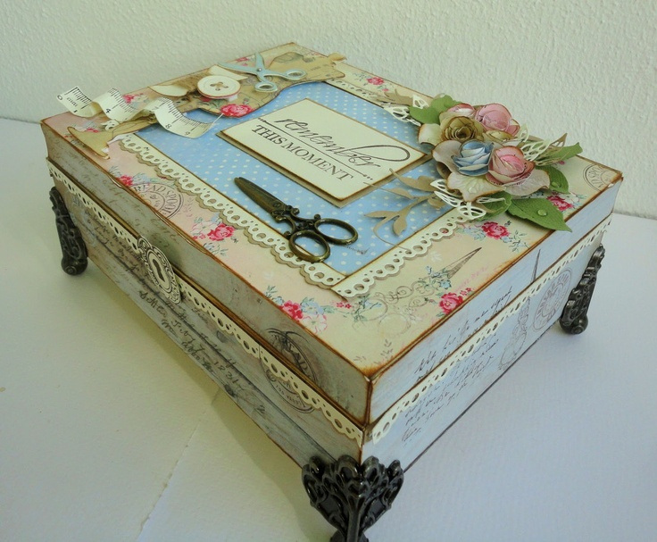{Pink}-N-Pepper: The old sewing box