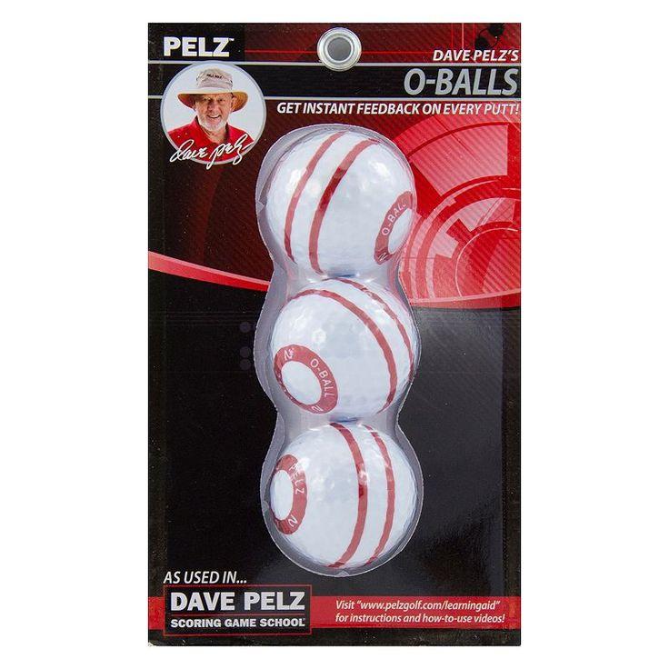 Dave Pelz Golf O-Ball Pack, Multicolor