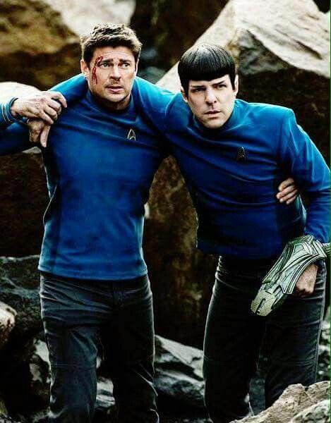 McCoy & Spock...
