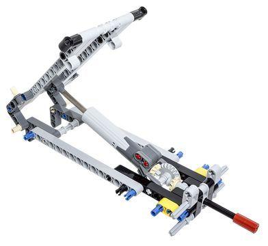 LEGO Technic Building Tip - Tipper Mechanism Using a Linear Actuator