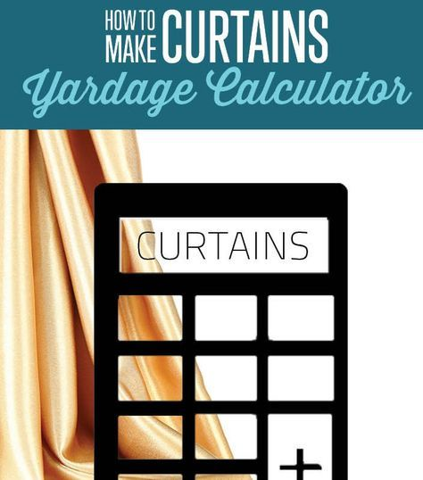 Learn how to measure for curtains, and calculate the yardage. How to measure fabric for curtains and drapes. Use our curtain yardage measurement calculator.
