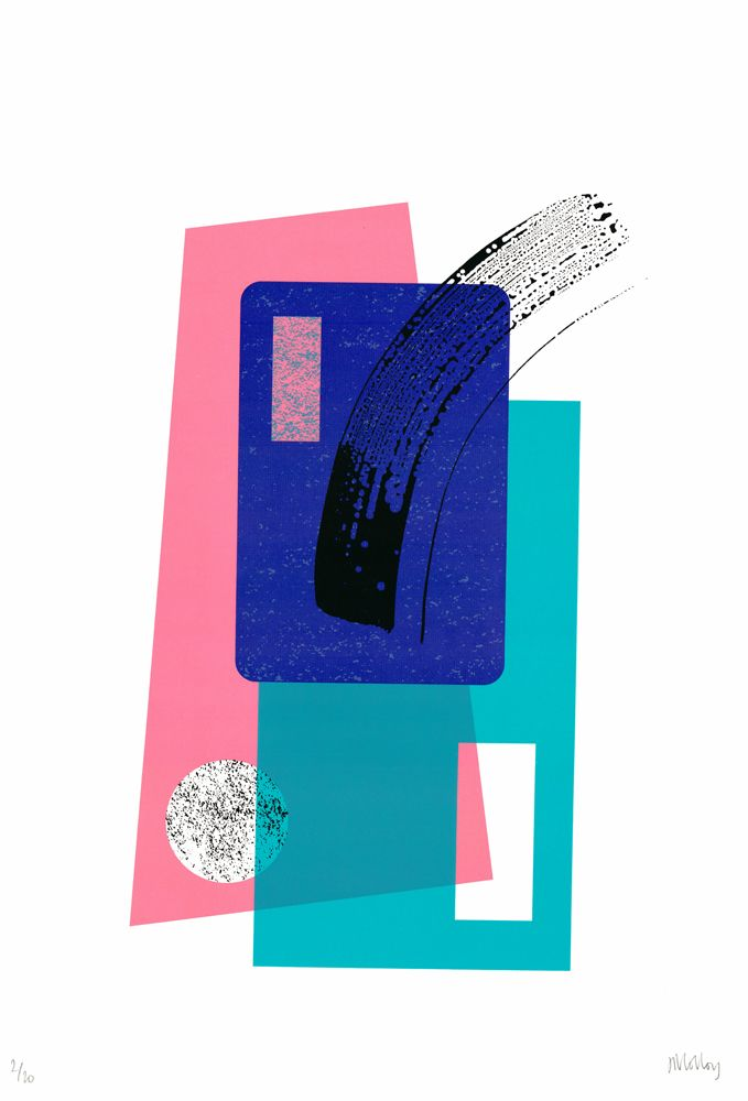Brand New Limited Edition Print By Josie Molloy Swoosh Available On Club Londons Online Gallery Unframed At