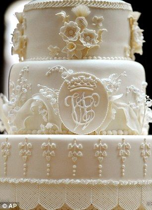 Even the Royal Wedding cake had a monogram! This trend is everywhere!