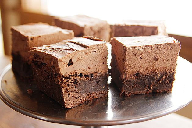 Mocha Brownies 4 sticks of butter is just stupid but they would be good for a special occasion where I don't have to eat the whole pan!!!