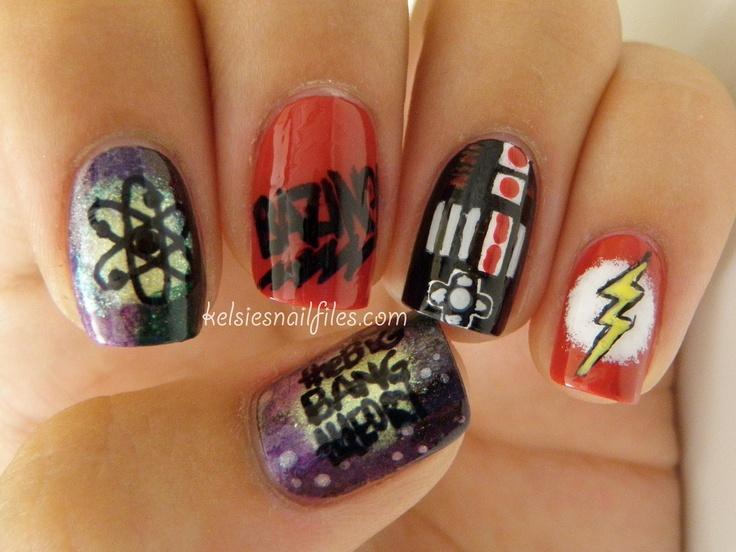 Big Bang Theory Nails