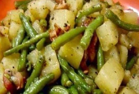 Crockpot Ham Green Beans and Potatoes – Healthy To Fit