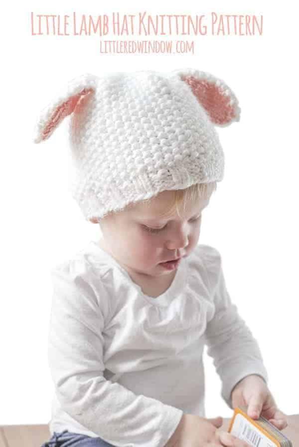 773a267c1 Little Lamb Hat Knitting Pattern
