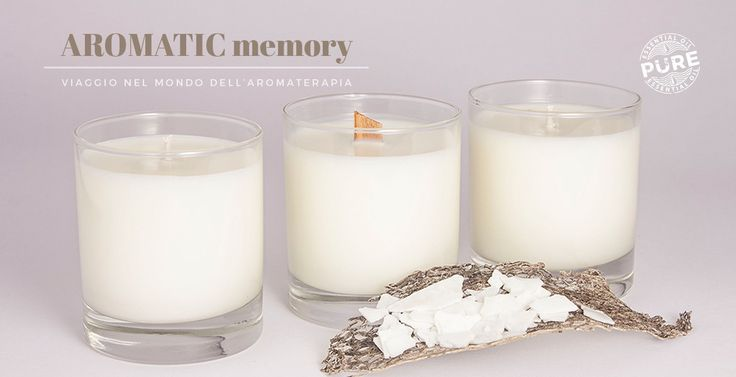 Candele naturali, cera di soia 100%, hand made I Kiio Candles