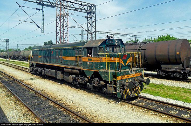 RailPictures.Net Photo: 661-118 ZS - Zeleznice Srbije EMD G16 at Pančevo, Serbia and Montenegro by Zarko Gorovic