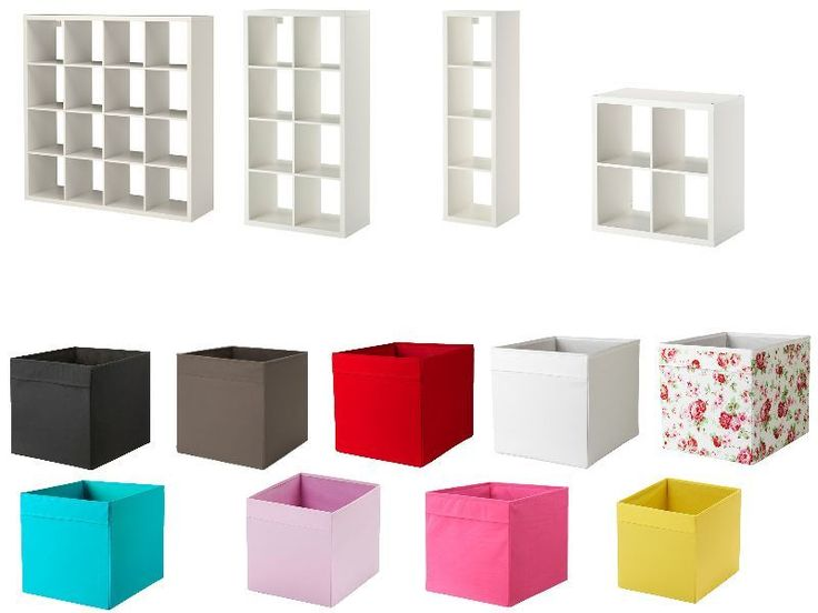 25 best ideas about white shelving unit on pinterest for Ikea box shelf unit