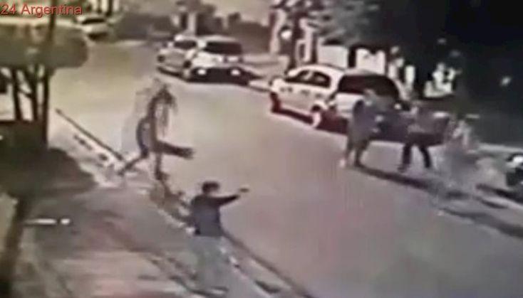 Video: doble asalto a una familia en el festejo de Nochebuena