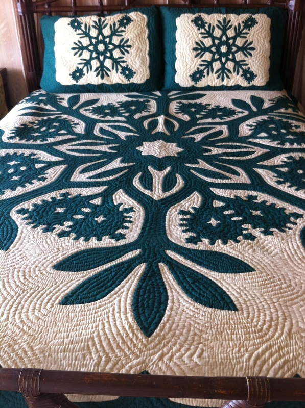 66 best images about Hawaiian Quilts on Pinterest | Quilt