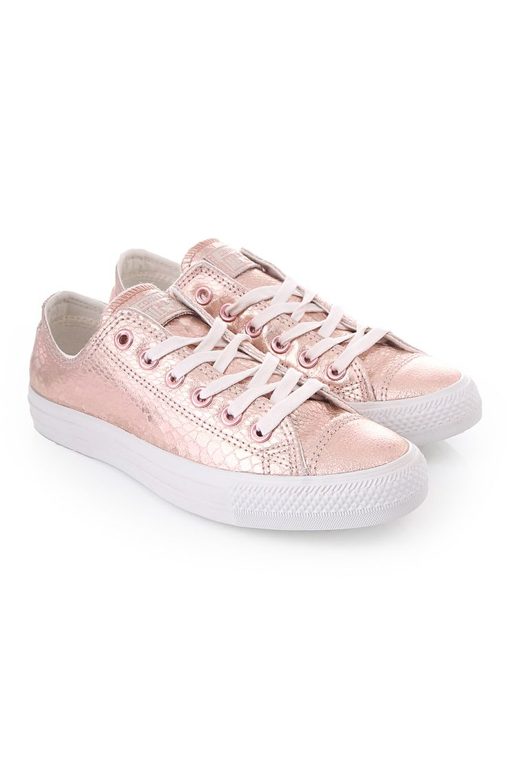 rose gold converse and converse chuck taylor on pinterest. Black Bedroom Furniture Sets. Home Design Ideas