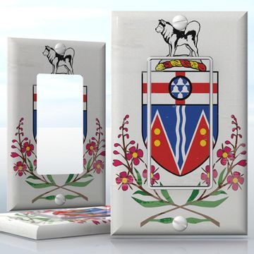 Best 25 yukon flag ideas on pinterest canada day vancouver diy do it yourself home decor easy to apply wall plate wraps canadian yukon solutioingenieria Gallery