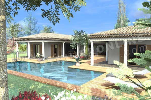 <div><b>Maison traditionnelle de plain pied de type 6</b></div><div>4 chambres - 1 bureau - terrasseS - garage </div><div>Surface Habitable: 170m² / Surface annexe: 132m²</div>