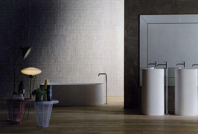 SABBIA washbasin & bathtub designed by Naoto Fukasawa for BOFFI.    http://santiccioli.com/en/collections/?filter=product&name=sabbia