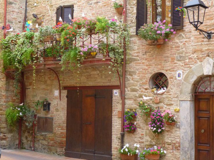 Paciano, Umbria, Italia