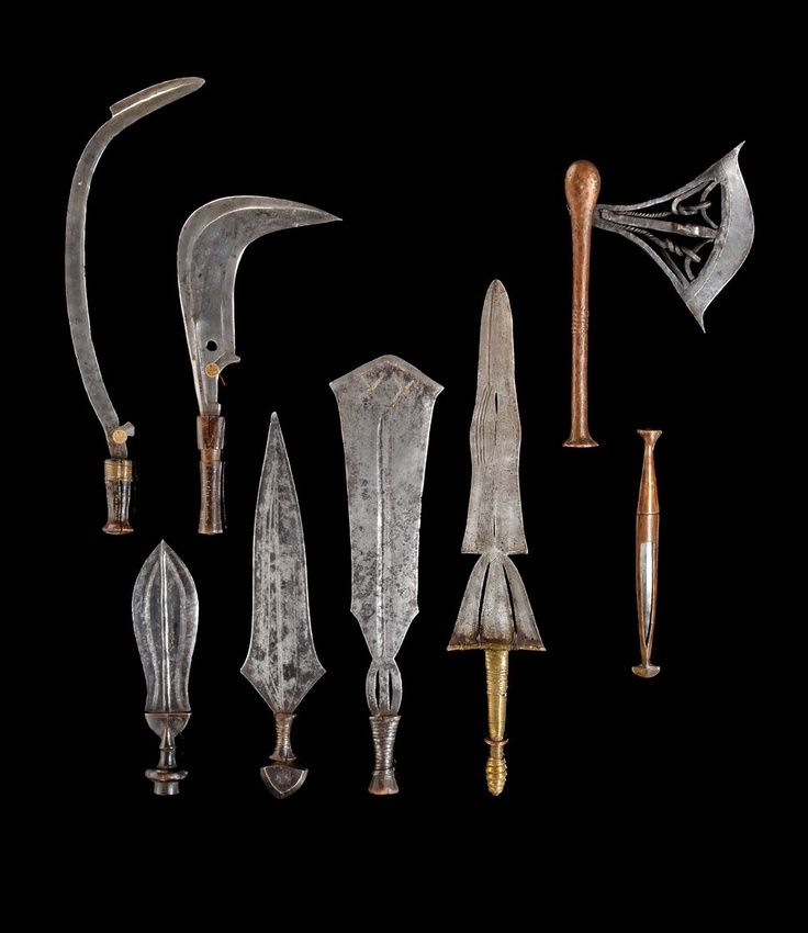 Pictures of Ancient African Weapons - #rock-cafe