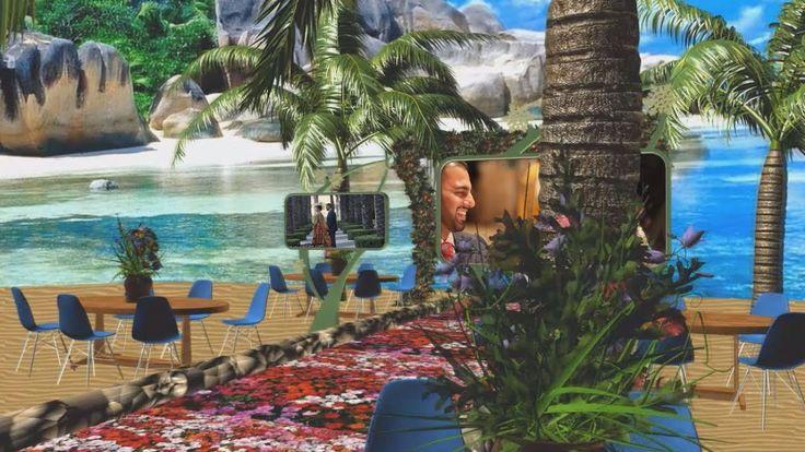 EDIUS 9, 4K 3D Wedding Song Project