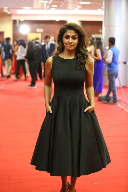 #Nayanthara #Britannia_Filmfare_awards2016