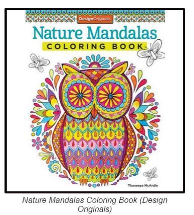 Fight Stress With Mandala Coloring Books And Markers