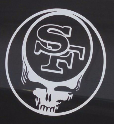 49ersgrateful dead decaldie cut vinyl stickersteal your face