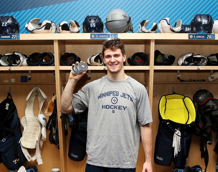 First Hatty for Mark Schiefele!! Congrats