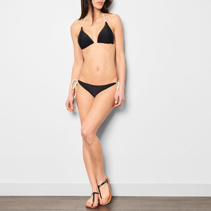 Pomandère 2 Piece Swimsuit Black