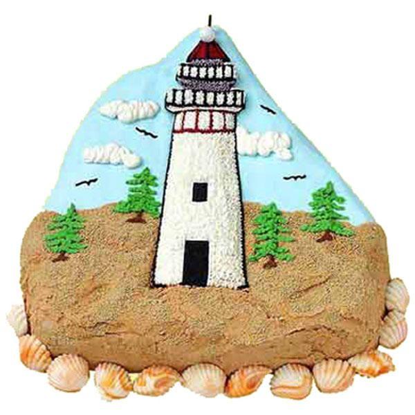 D Lighthouse Cake Pan