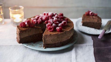 Chocolate Cake Recipe Using One Springform Cake Tin