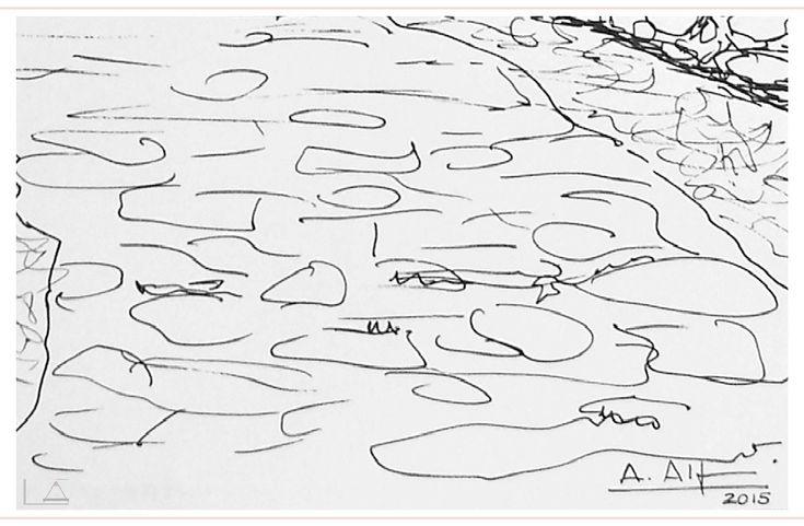 DUBUJO A TINTA I FORMENTERA  'Retratos de un lugar: el dibujo a tinta como recuerdo de una historia.'  http://loscoloresdellapiz.com/cuaderno-de-viaje/  Me encanta el papel en blanco.  Esa sensación de libertad absoluta. Esa impresión de poder hacer cualquier cosa. Esa incertidumbre de cuál será su destino. El primer trazo supone el comienzo del relato y el último el sello personal de quien lo cuenta. Todo lo que pasa en medio es un misterio!  www.loscoloresdellapiz.com