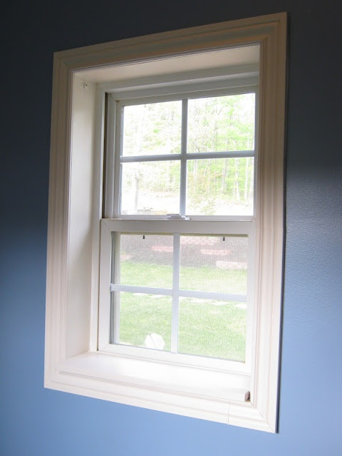How To Frame A Window Decoration House Remodel