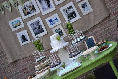 A Silver Nutmeg: Rustic Anniversary Party