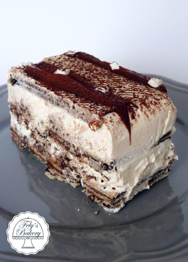Semifreddo gelato con wafer (senza gelatiera) | Fely's Bakery