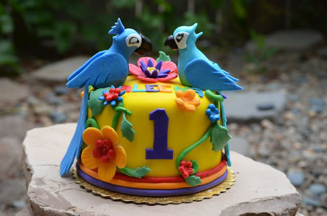 Rio Themed Cake