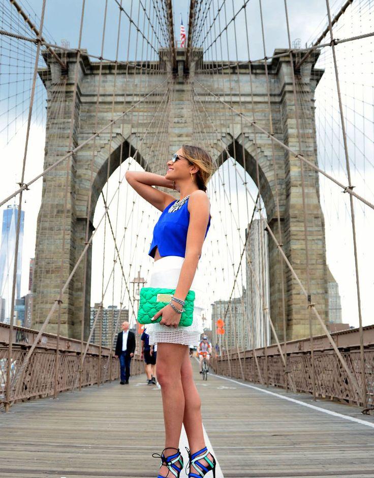 Puente brooklyn en New York #nyfw15 #soytendencia
